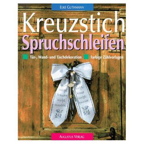 Elke Guthmann - Kreuzstich, Türdekorationen, Wanddekorationen und Tischdekorationen - Preis vom 21.06.2021 04:48:19 h