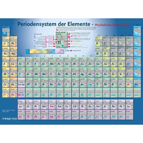 Ekkehard Fluck - Periodensystem der Elemente - Preis vom 18.06.2021 04:47:54 h