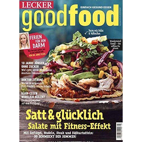 Lecker good food - Lecker good food 3/2019 Satt & glücklich - Preis vom 16.06.2021 04:47:02 h