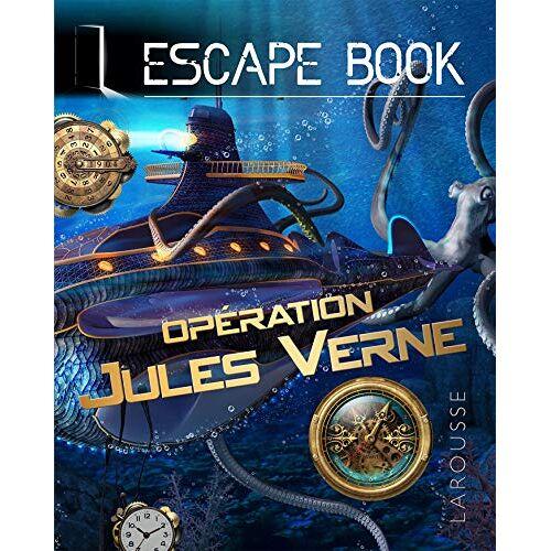 - ESCAPE BOOK Jules Vernes (Escape game) - Preis vom 15.06.2021 04:47:52 h
