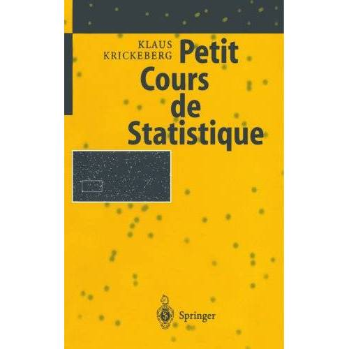 Klaus Krickeberg - Petit Cours de Statistique - Preis vom 15.06.2021 04:47:52 h