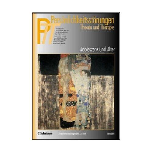 Kernberg, Otto F. - Persönlichkeitsstörungen PTT: Persönlichkeitsstörungen, Theorie und Therapie (PTT), H.1, Adoleszenz und Alter - Preis vom 15.09.2021 04:53:31 h