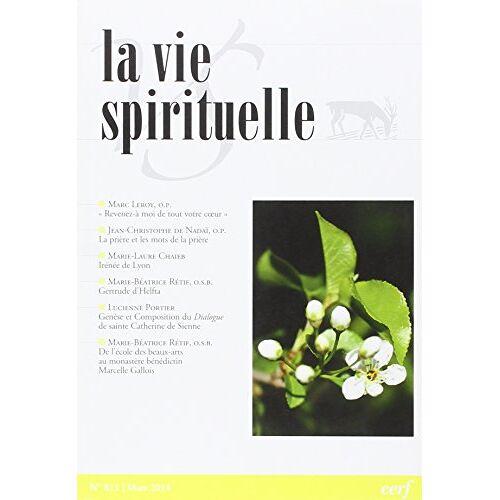 - La vie spirituelle numéro 811 - Preis vom 17.10.2021 04:57:31 h