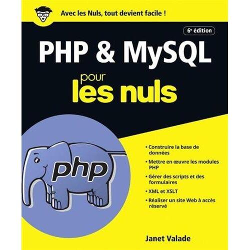 - PHP & MySQL pour les nuls - Preis vom 18.06.2021 04:47:54 h