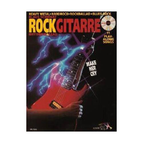 Klaus Schwarz - Rock Gitarre: Make her cry - Rhythm & Lead / Heavy Metal - Hardrock - Rockballad - Blues-Rock. Gitarre. Ausgabe mit CD.: Rhythmus und Lead. ... Blues-Rock. Make her cry (Schott Pro Line) - Preis vom 14.06.2021 04:47:09 h