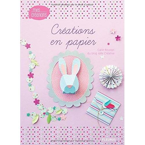 Céline du blog Idée Créative - Créations en papier - Preis vom 14.06.2021 04:47:09 h
