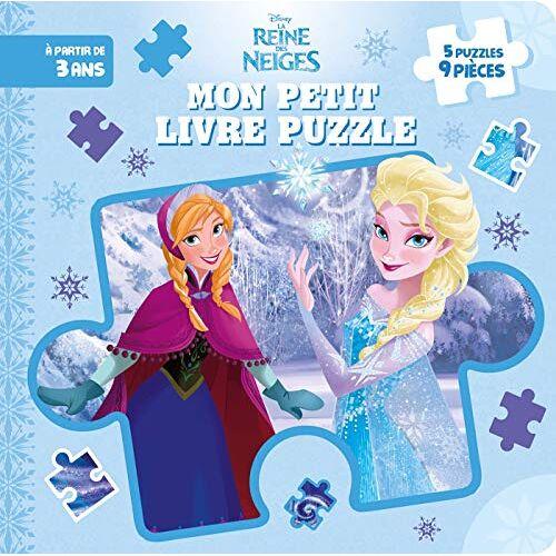 - LA REINE DES NEIGES - Mon Petit Livre Puzzle - 5 Puzzles 9 Pièces - Disney (Mon Petit Livre puzzle (9P)) - Preis vom 23.09.2021 04:56:55 h
