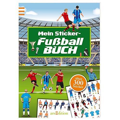 - Meine Fußball-Sticker: Ein Stickerbuch mit über 300 Stickern (Mein Stickerbuch) - Preis vom 19.06.2021 04:48:54 h