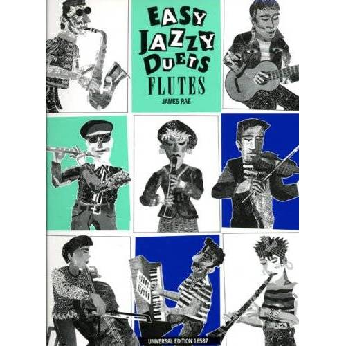 James Rae - Easy Jazzy Duets, für 2 Flöten (Keyboard/ Gitarre ad lib.) - Preis vom 12.06.2021 04:48:00 h