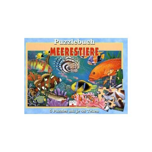 - Meerestiere: Puzzlebuch - Preis vom 18.06.2021 04:47:54 h
