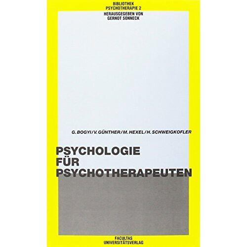 - Psychologie für Psychotherapeuten (Bibliothek Psychotherapie) - Preis vom 30.07.2021 04:46:10 h
