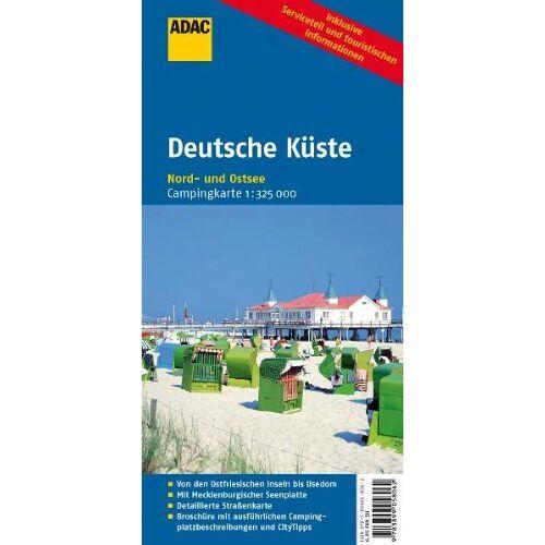- ADAC CampingKarte Deutsche Küste: Nord- und Ostsee (Camping und Caravaning) - Preis vom 15.06.2021 04:47:52 h