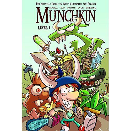 Tom Sidell - Munchkin: Level 1 - Preis vom 20.06.2021 04:47:58 h
