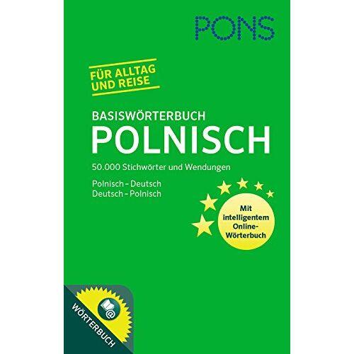 - PONS Basiswörterbuch Polnisch: 50.000 Stichwörter und Wendungen. Polnisch-Deutsch / Deutsch-Polnisch - Preis vom 15.09.2021 04:53:31 h
