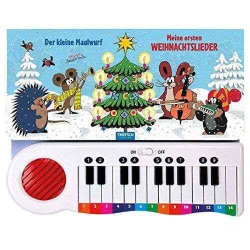 Trötsch Verlag GmbH & Co. KG - Der kleine Maulwurf - Meine ersten Weihnachtslieder: mit kleinem Mini-Keyboard (Weihnachten) - Preis vom 20.06.2021 04:47:58 h