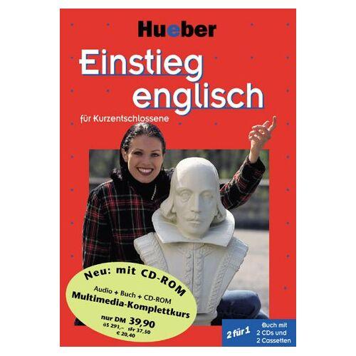 Tabbert, Pamela Ann - Einstieg . . . für Kurzentschlossene, Audio-Lehrgang u. CD-ROM, Einstieg englisch - Preis vom 21.06.2021 04:48:19 h