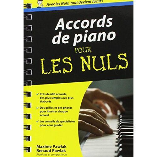 Maxime Pawlak - Accords de piano pour les nuls - Preis vom 21.06.2021 04:48:19 h