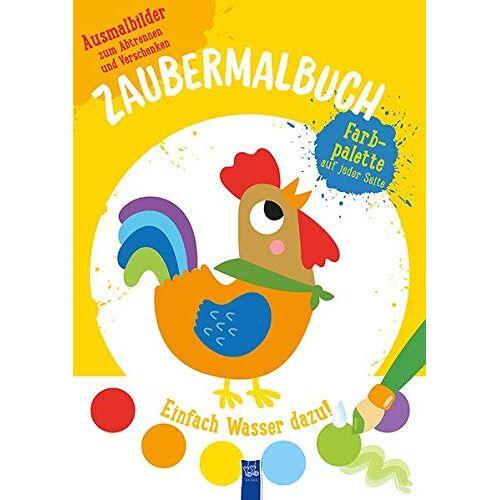 - Zaubermalbuch - Hahn (gelb): Mit Pinsel und Farbpalette7,99 - Preis vom 19.06.2021 04:48:54 h