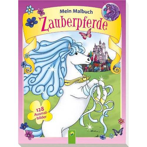 - Mein Malbuch Zauberpferde: 28 Ausmalbilder - Preis vom 15.06.2021 04:47:52 h