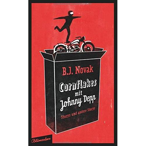 B.J. Novak - Cornflakes mit Johnny Depp: Storys und andere Storys - Preis vom 27.07.2021 04:46:51 h