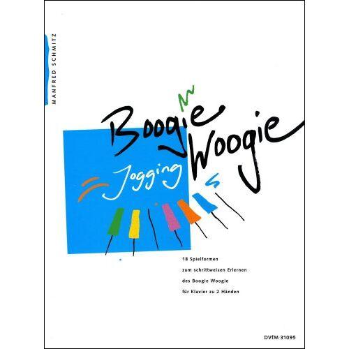 Manfred Schmitz - Boogie Woogie Jogging für Klavier (DV 31095) - Preis vom 21.06.2021 04:48:19 h