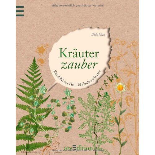 Dido Nitz - Kräuterzauber. Ein ABC der Heil- und Zauberpflanzen - Preis vom 11.06.2021 04:46:58 h
