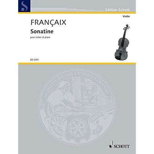 - Sonatine. Violine, Klavier - Preis vom 21.06.2021 04:48:19 h