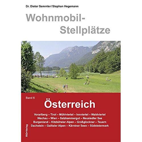 Dieter Semmler - Wohnmobil-Stellplätze Österreich, Bd. 6 - Preis vom 20.06.2021 04:47:58 h