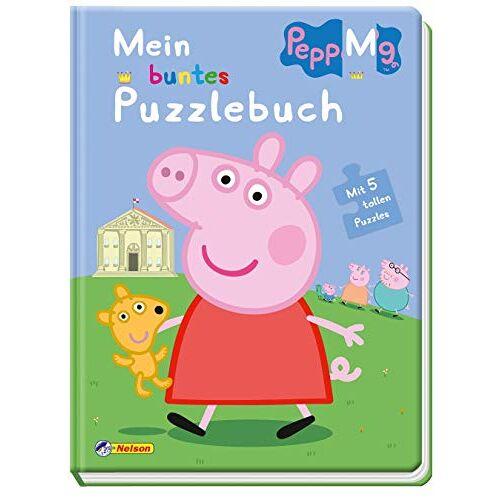 - Peppa: Mein buntes Puzzlebuch: Mit 5 tollen Puzzles (Peppa Pig) - Preis vom 23.09.2021 04:56:55 h