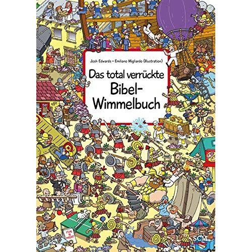 - Das total verrückte Bibel-Wimmelbuch (Bilderbücher für 3- bis 6-Jährige - Wimmelbücher) - Preis vom 11.10.2021 04:51:43 h