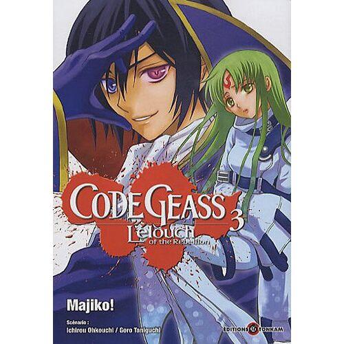 Majiko - Code Geass, Tome 3 : - Preis vom 17.06.2021 04:48:08 h