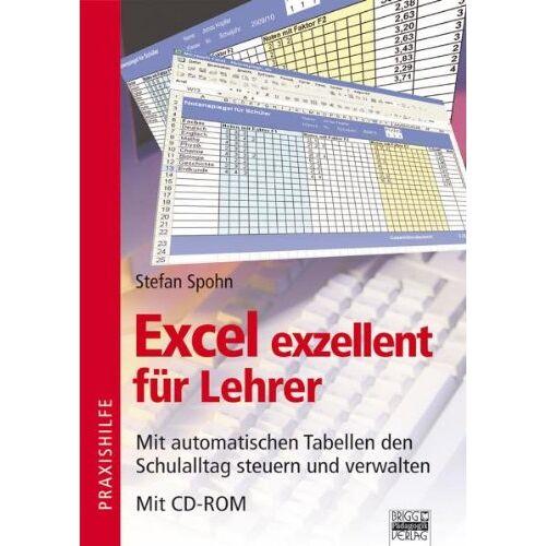 Stefan Spohn - Excel exzellent für Lehrer, m. CD-ROM - Preis vom 22.06.2021 04:48:15 h