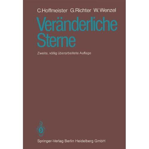 C. Hoffmeister - Veränderliche Sterne - Preis vom 09.06.2021 04:47:15 h