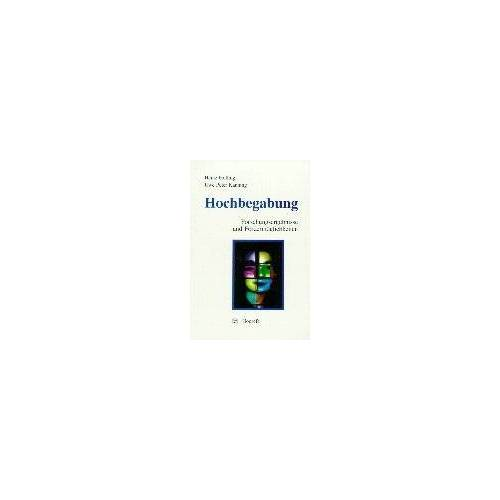 Heinz Holling - Hochbegabung: Forschungsergebnisse und Fördermöglichkeiten - Preis vom 19.06.2021 04:48:54 h