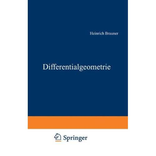 Heinrich Brauner - Differentialgeometrie - Preis vom 16.06.2021 04:47:02 h