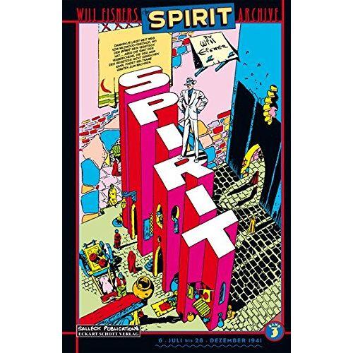 Will Eisner - Der Spirit: Will Eisners Spirit Archive Band 3 - Preis vom 29.07.2021 04:48:49 h