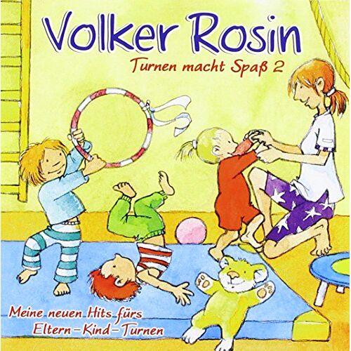 Volker Rosin - Turnen macht Spaß 2 CD: Neue Hits fürs Eltern-Kind-Turnen - Preis vom 20.06.2021 04:47:58 h