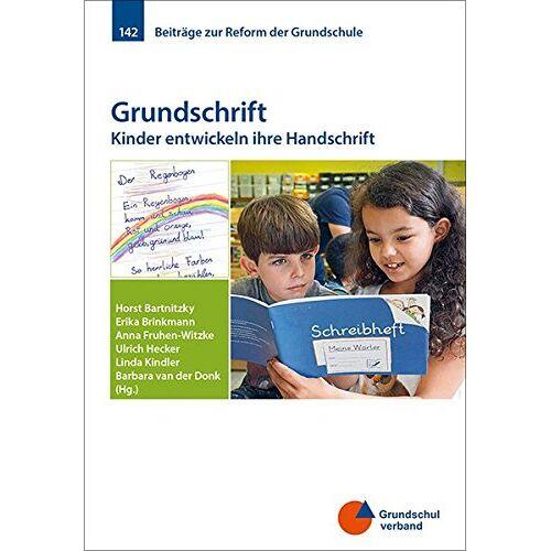 Grundschulverband e.V. - Grundschrift: Kinder entwickeln ihre Handschrift (Beiträge zur Reform der Grundschule) - Preis vom 19.06.2021 04:48:54 h