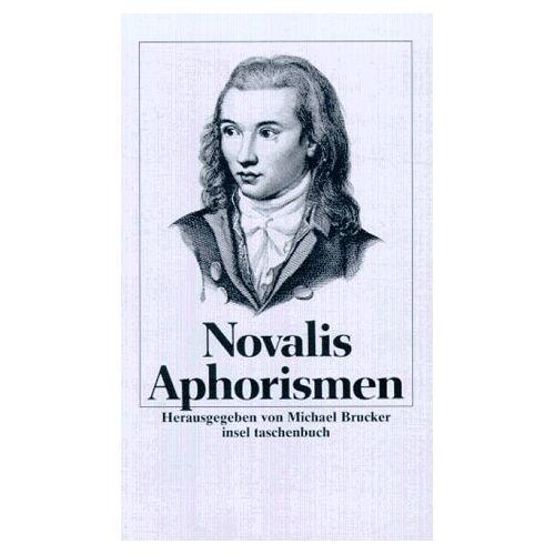 Novalis - Aphorismen - Preis vom 11.06.2021 04:46:58 h