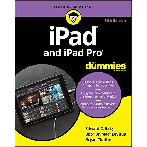 Baig, Edward C. - iPad and iPad Pro For Dummies - Preis vom 15.06.2021 04:47:52 h
