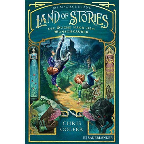 Chris Colfer - Land of Stories: Das magische Land 1 – Die Suche nach dem Wunschzauber (The Land of Stories) - Preis vom 17.06.2021 04:48:08 h