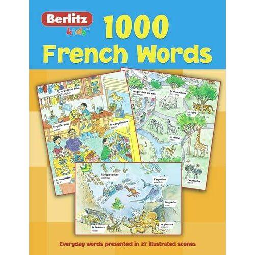 Berlitz Guides - Berlitz Language: 1000 French Words (Berlitz 1000 Words) - Preis vom 17.06.2021 04:48:08 h