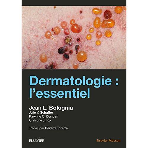 Bolognia, Jean L. - Dermatologie: L'essentiel - Preis vom 19.06.2021 04:48:54 h