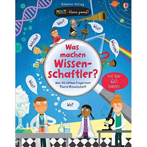 Katie Daynes - MINT - Wissen gewinnt! Was machen Wissenschaftler?: über 55 schlaue Fragen zum Thema Wissenschaft - Preis vom 22.06.2021 04:48:15 h