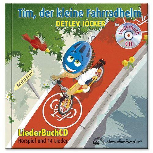 Detlev Jöcker - Tim, der kleine Fahrradhelm: LiederBuchCD über das Fahrradhelm tragen und Fahrradfahren lernen - Preis vom 22.09.2021 05:02:28 h