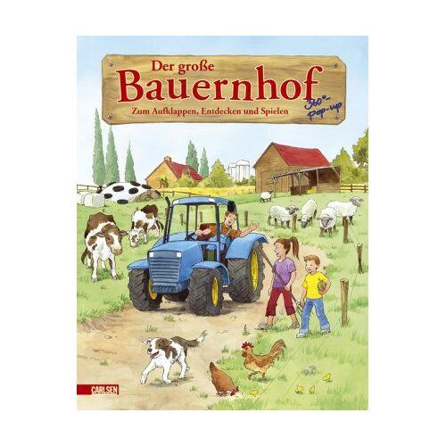 Inga Huebner - Pop-up-Bücher: Der große Bauernhof: Zum Aufklappen, Entdecken und Spielen - Preis vom 03.08.2021 04:50:31 h