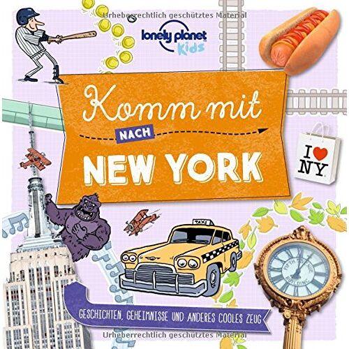 Lonely Planet - Komm mit nach New York (Lonely Planet Kids) (Lonely Planet Kids Komm mit) - Preis vom 09.06.2021 04:47:15 h