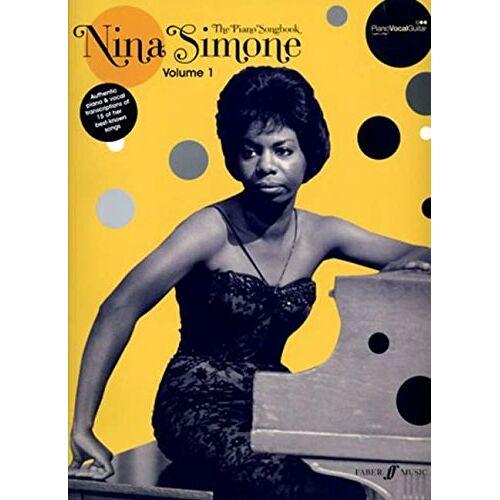- Nina Simone Piano Songbook: (Piano/ Vocal/ Guitar) - Preis vom 21.06.2021 04:48:19 h