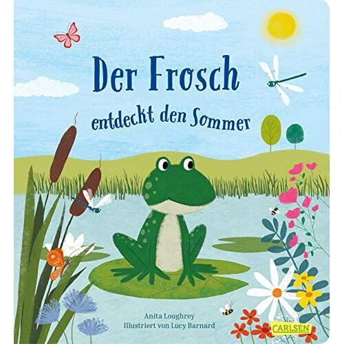 Anita Loughrey - Der Frosch entdeckt den Sommer - Preis vom 21.06.2021 04:48:19 h