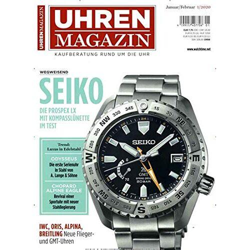 Uhren Magazin - Uhren Magazin 1/2020 - Preis vom 14.06.2021 04:47:09 h